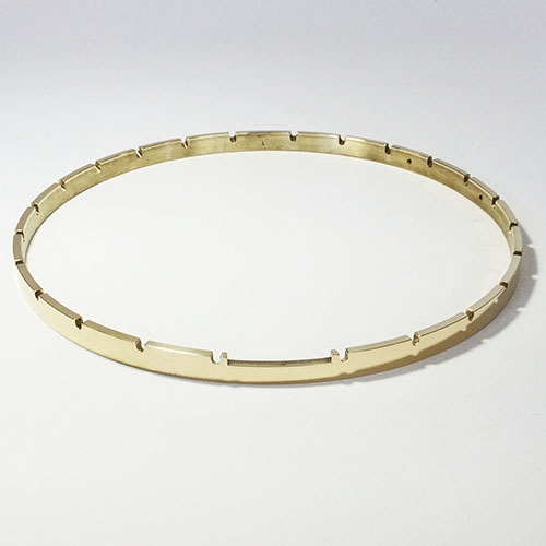 "11"" x 24 Notch Brass Tension Hoop"
