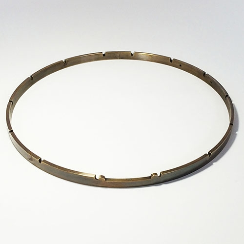 "12"" x 14 Notch Aged Brass Tension Hoop"