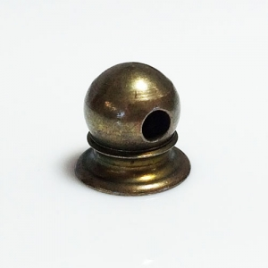 Aged Brass Bracket Ball