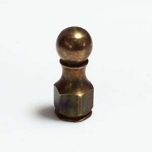 Aged Brass Bracket Nut