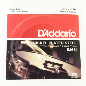 D'addario Irish Tenor Banjo Strings