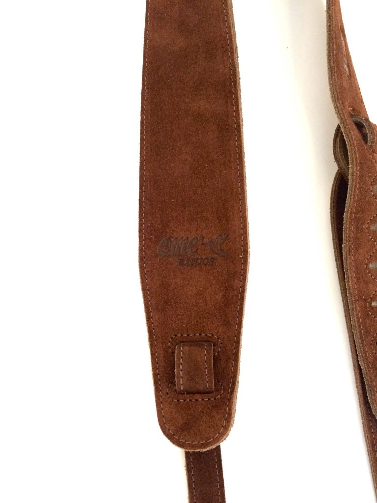 OME Leather Strap Logo
