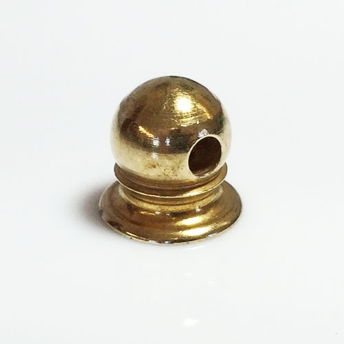 Polished Brass Bracket Ball