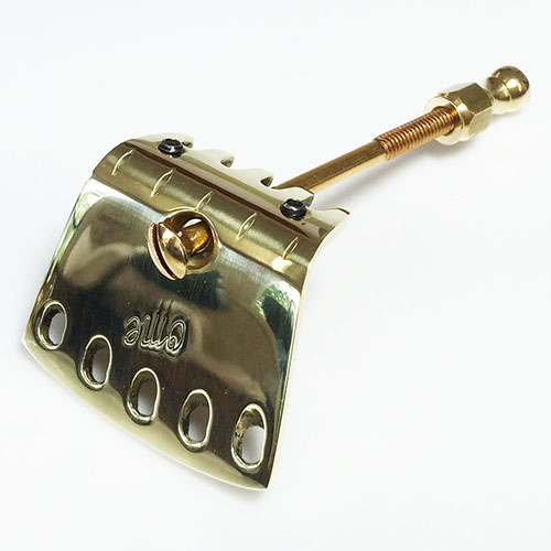 Short Sweetone Polished Brass Tailpiece