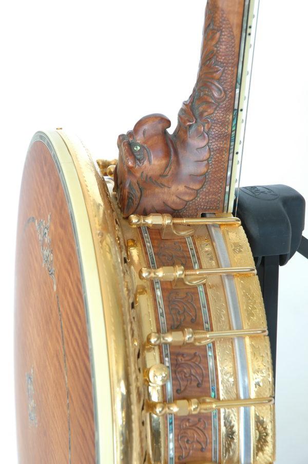 Ome Grand Artist Spring Banjo Heel