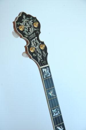 Ome Grand Artist Spring Banjo PH Front