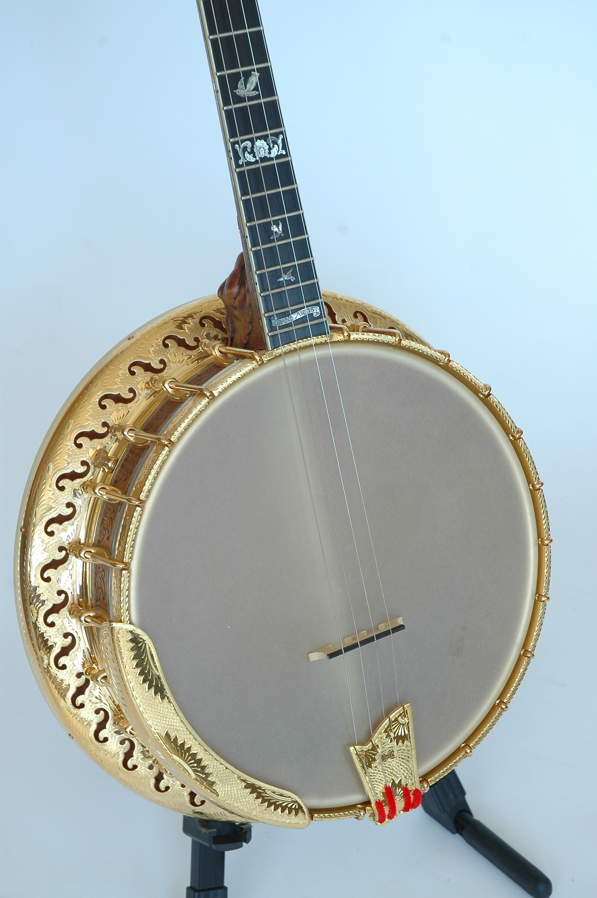Ome Grand Artist Spring Banjo Silverbell