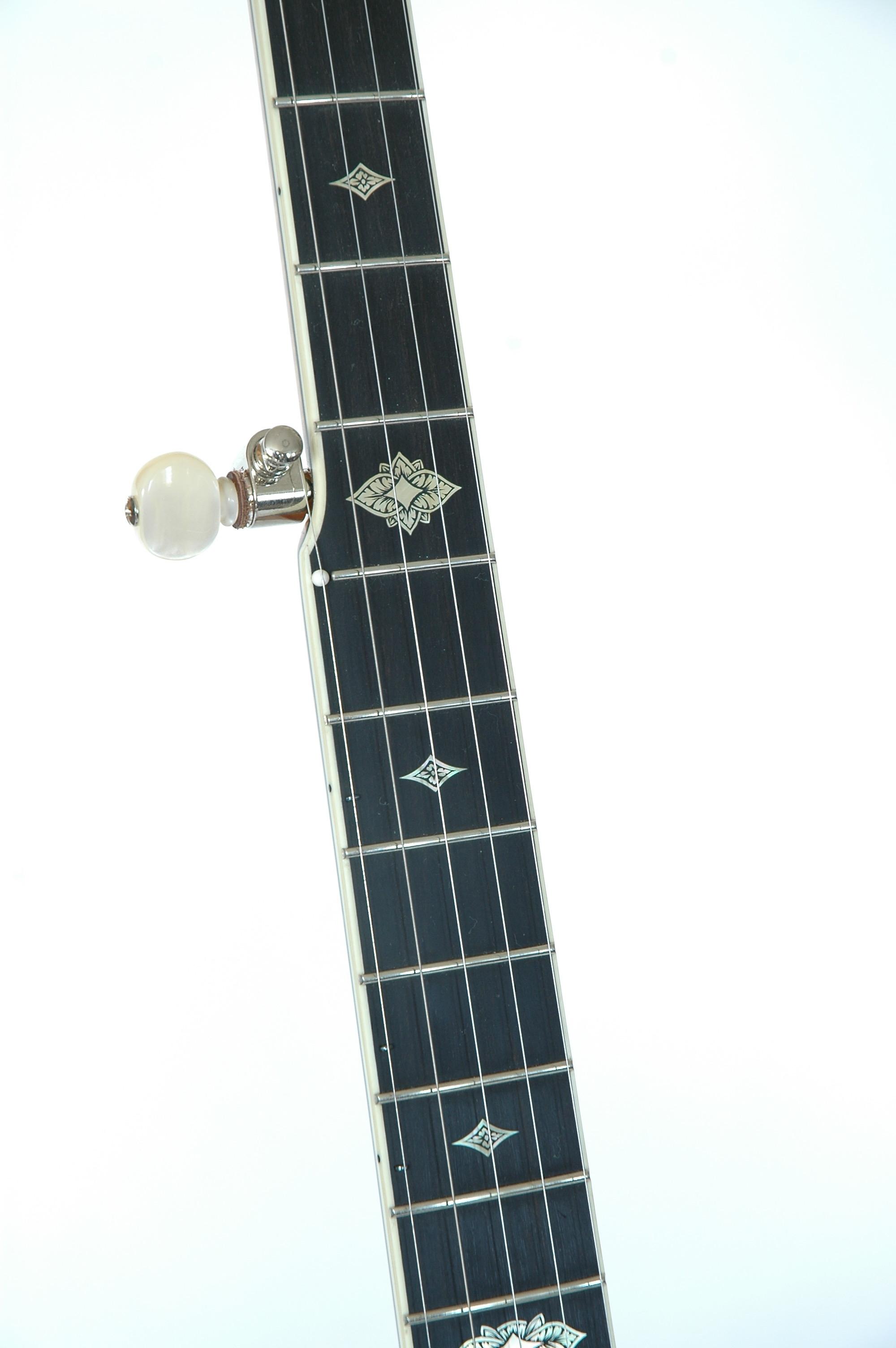 Omega Banjo FB Close-Up