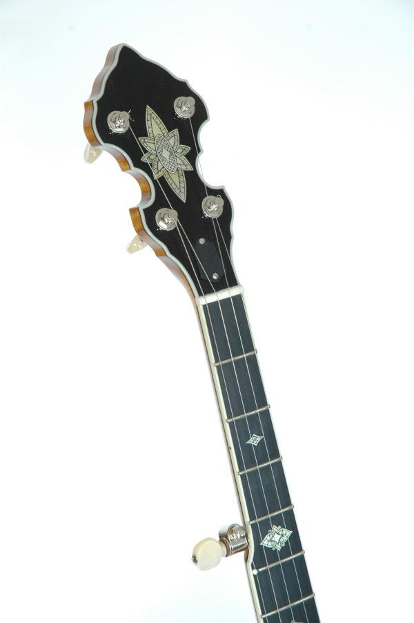 Omega Banjo Peghead